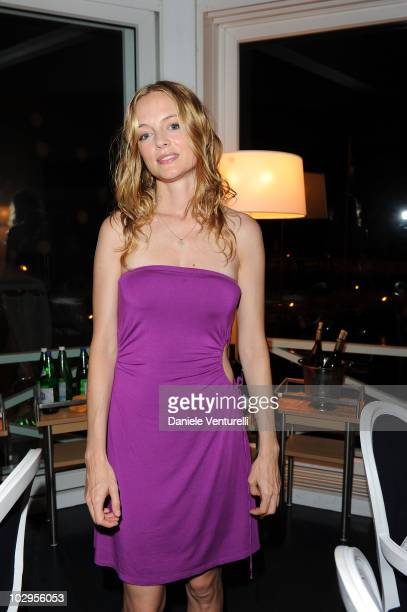 Heather Graham attends day seven of the Ischia Global Film And Music Festival on July 17 2010 in Ischia Italy