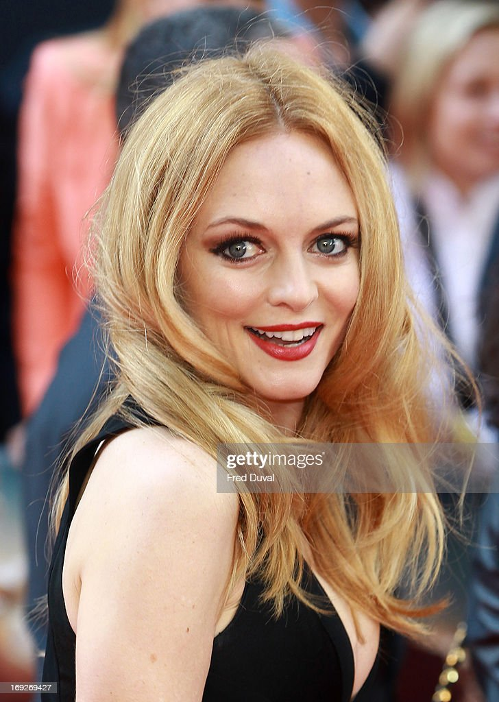 Heather Graham attends The Hangover III - UK film premiere at The Empire Cinema on May 22, 2013 in London, England.