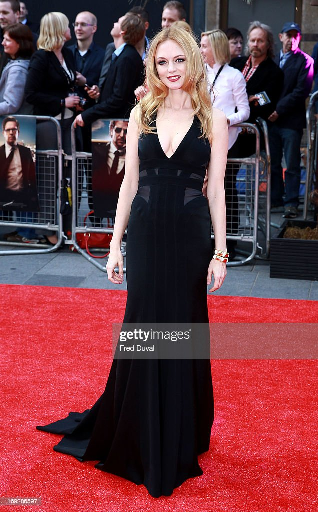 Heather Graham attends 'The Hangover III' - UK film premiere at The Empire Cinema on May 22, 2013 in London, England.