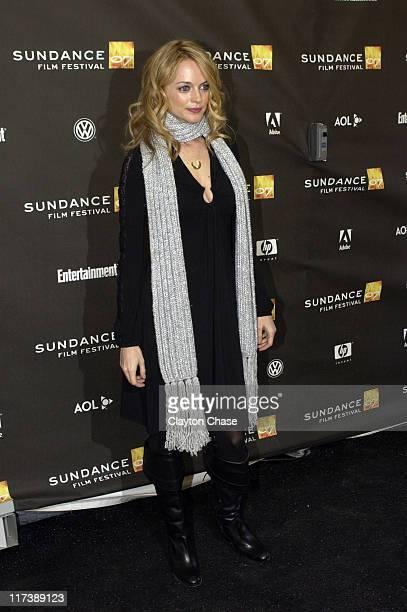 Heather Graham during 2007 Sundance Film Festival 'Adrift in Manhattan' Screening and QA at Racquett Club in Park City Utah United States