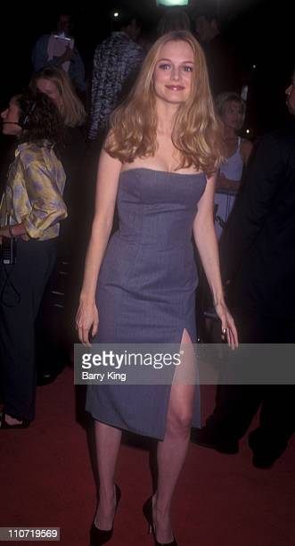 Heather Graham during 'Boogie Nights' Los Angeles Premiere at Mann Chinese Theatre in Hollywood California United States