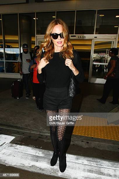 Heather Graham is seen at LAX on September 06 2015 in Los Angeles California