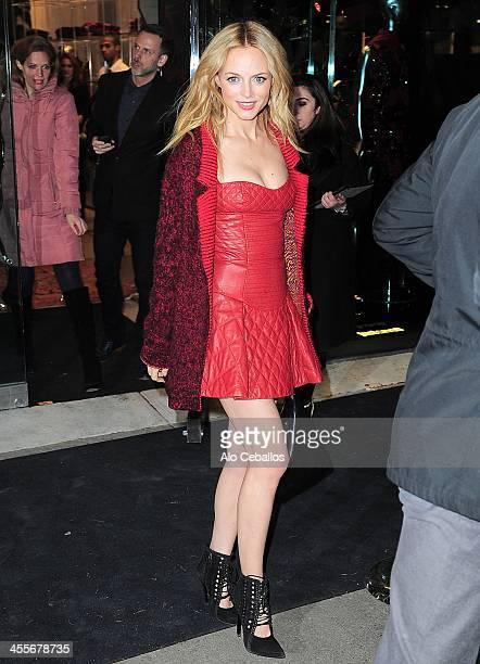 Heather Graham is seen on December 12 2013 in New York City
