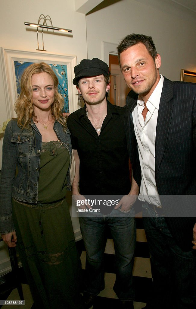Heather Graham Rasher and Justin Chambers during Rasher Exhibit in Hollywood March 16 2006 at Penthouse @ Chateau Marmont in Hollywood CA