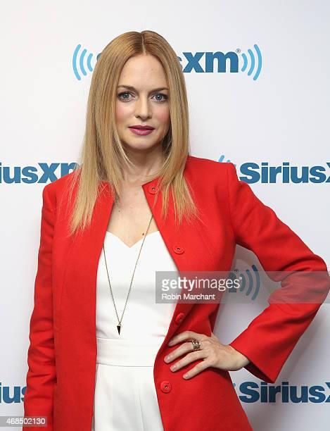 Heather Graham visits at SiriusXM Studios on April 3 2015 in New York City