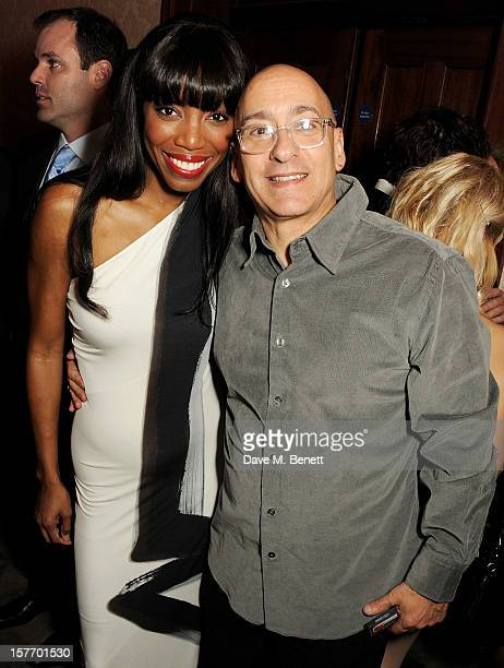 Heather Headley and Allan Rich attend an after party celebrating the press night performance of 'The Bodyguard' at on December 5 2012 in London...