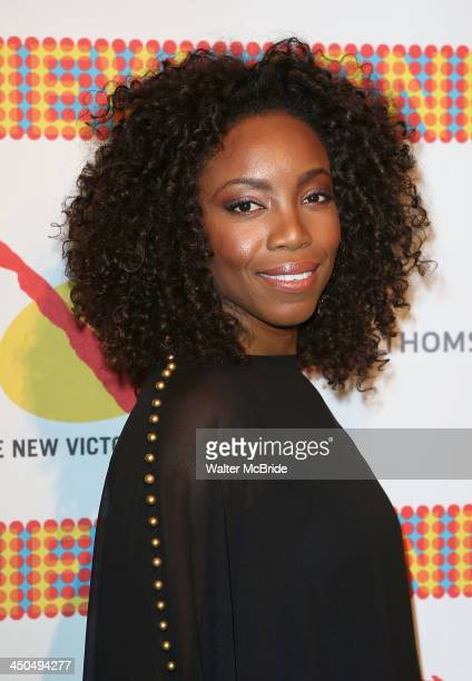 Heather Headley attends The New 42nd Street 2013 New Victory Arts Awards Gala dinner at The New Victory Theater on November 18 2013 in New York City