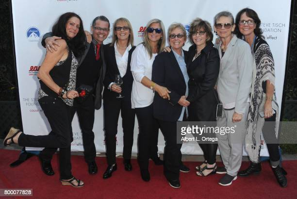Heather Hinkel and guests attend the Entertainment AIDS Alliance's Annual EAA Wine Wisdom Vision Event Benefiting Village Health Foundation And UCLA...