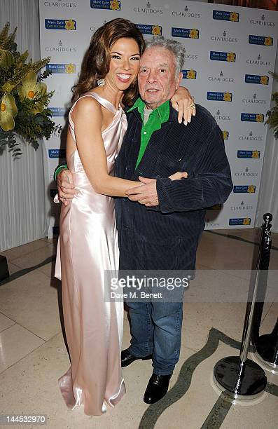 Heather Kerzner and David Bailey attend the Marie Curie Cancer Fundraiser hosted by Heather Kerzner at Claridge's Hotel on May 15 2012 in London...