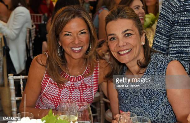 Heather Kerzner and guest attend the Women4Walkabout Ladies Luncheon Sponsored By Buccellati at Claridges Hotel on June 16 2017 in London England