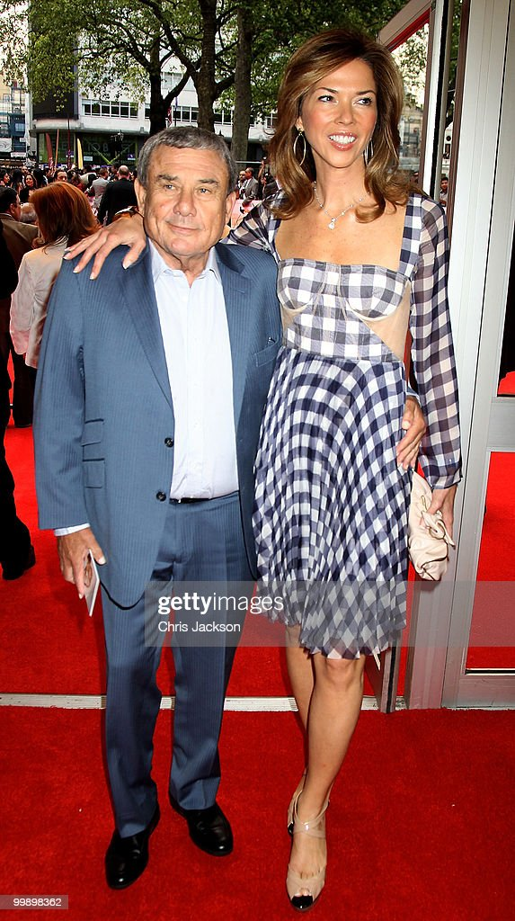 Heather Kerzner and Sol Kerzner attend the European Premiere of 'Kites' at Odeon West End on May 18 2010 in London England