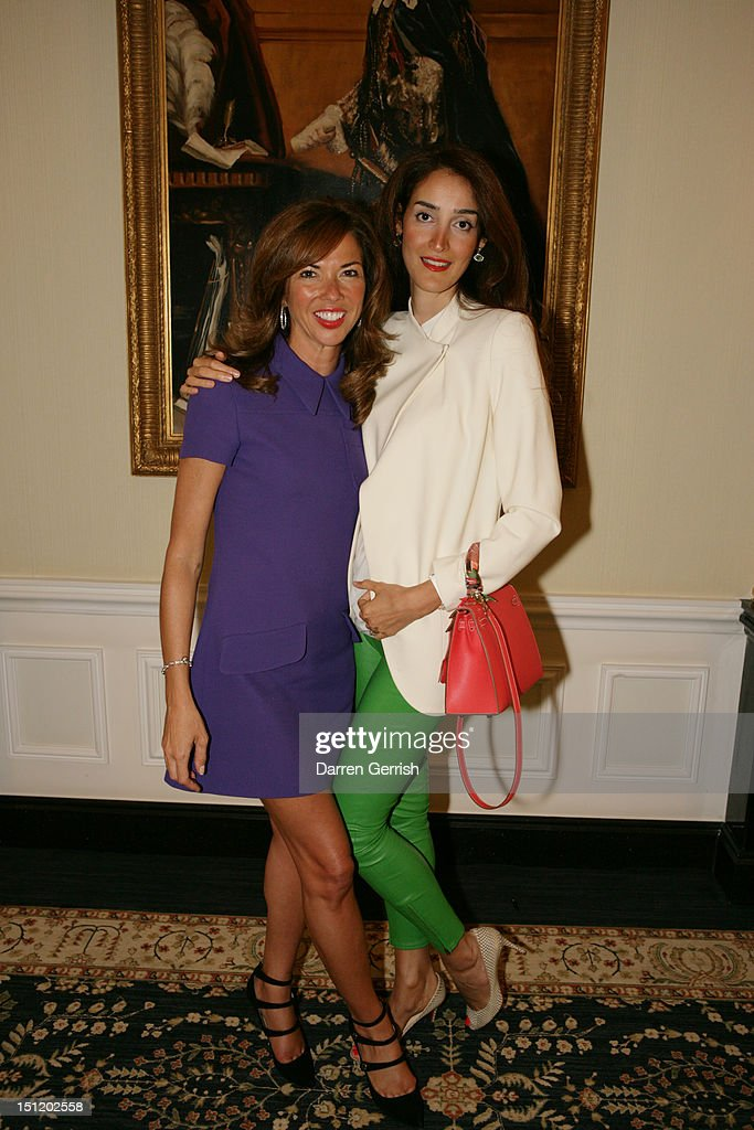 <a gi-track='captionPersonalityLinkClicked' href=/galleries/search?phrase=Heather+Kerzner&family=editorial&specificpeople=614088 ng-click='$event.stopPropagation()'>Heather Kerzner</a> and Yasmin Ghandehari attends the nominees party for The British Fashion Awards on September 3, 2012 in London, England.