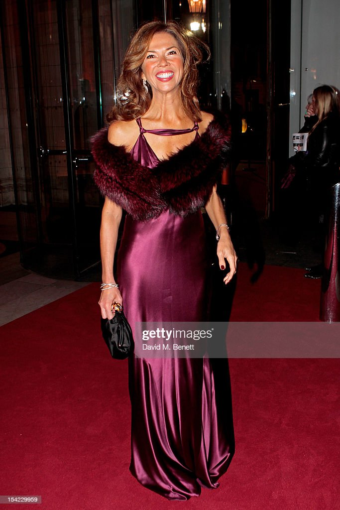 Heather Kerzner arrives at the launch dinner for the new Hollywood Costume exhibition at the V&A Museum on October 16, 2012 in London, England. The exhibition will open from October 20th at The V&A.