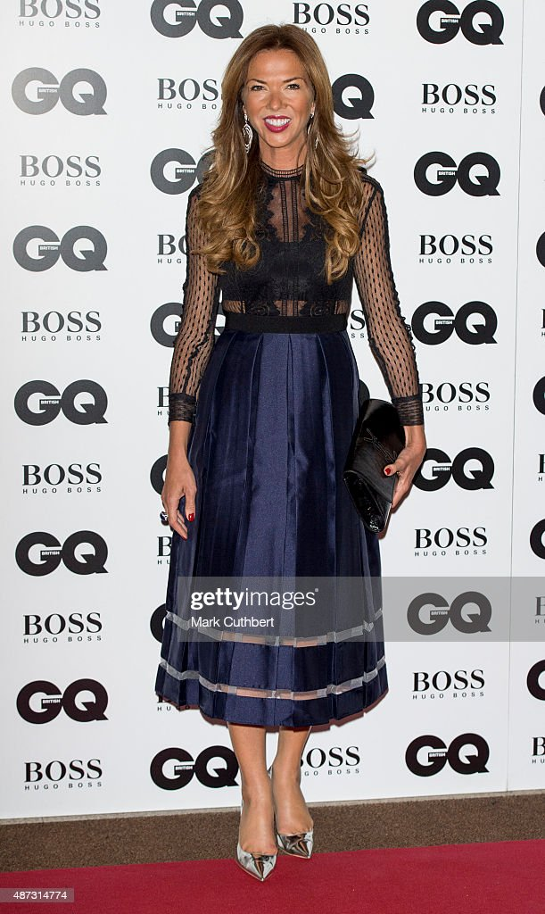 Heather Kerzner attends the GQ Men of the Year Awards at The Royal Opera House on September 8, 2015 in London, England.
