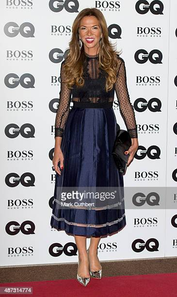 Heather Kerzner attends the GQ Men of the Year Awards at The Royal Opera House on September 8 2015 in London England