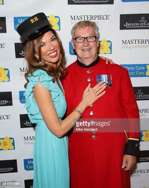 Heather Kerzner attends the Masterpiece Marie Curie Summer party in partnership with Jaeger LeCoultre and Heather Kerzner at The Royal Hospital...