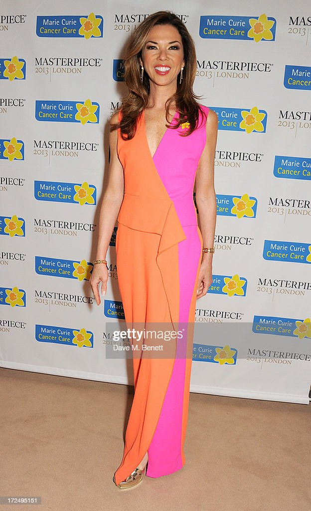 Heather Kerzner attends The Masterpiece Midsummer Party in aid of Marie Curie Cancer Care, hosted by Heather Kerzner, at The Royal Hospital Chelsea on July 2, 2013 in London, England. Marie Curie Nurses provide free end of life care to patients with terminal illness in their own homes or in one of its nine hospices.