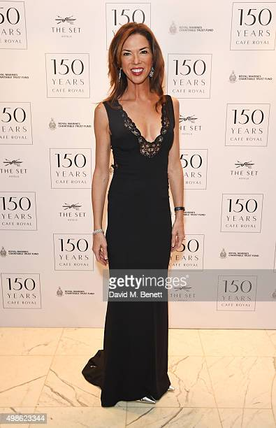 Heather Kerzner attends the Royal Marines Boxing Bout at Cafe Royal in celebration of their 150th Anniversary on November 24 2015 in London England