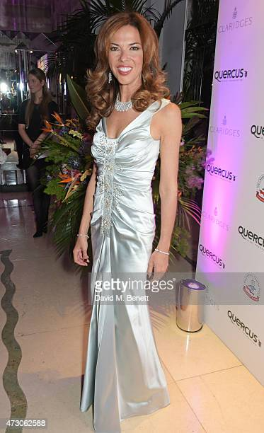 Heather Kerzner attends the Spring Gala In Aid of the Red Cross War Memorial Children's Hospital hosted by QBF and Kerzner Calliva at Claridge's...