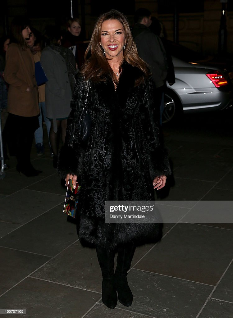 Heather Kerzner attends the VIP private view of David Bailey Bailey's Stardust at National Portrait Gallery on February 3 2014 in London England