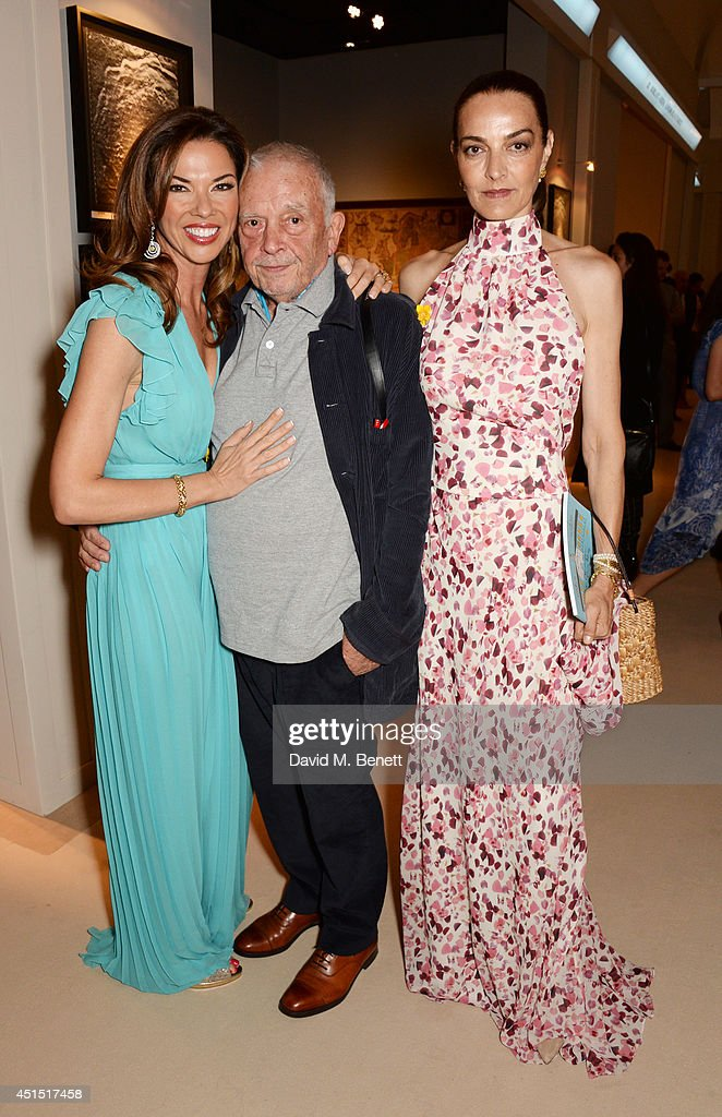 Heather Kerzner David Bailey and Catherine Bailey arrive at The Masterpiece Marie Curie Party supported by JaegerLeCoultre and hosted by Heather...