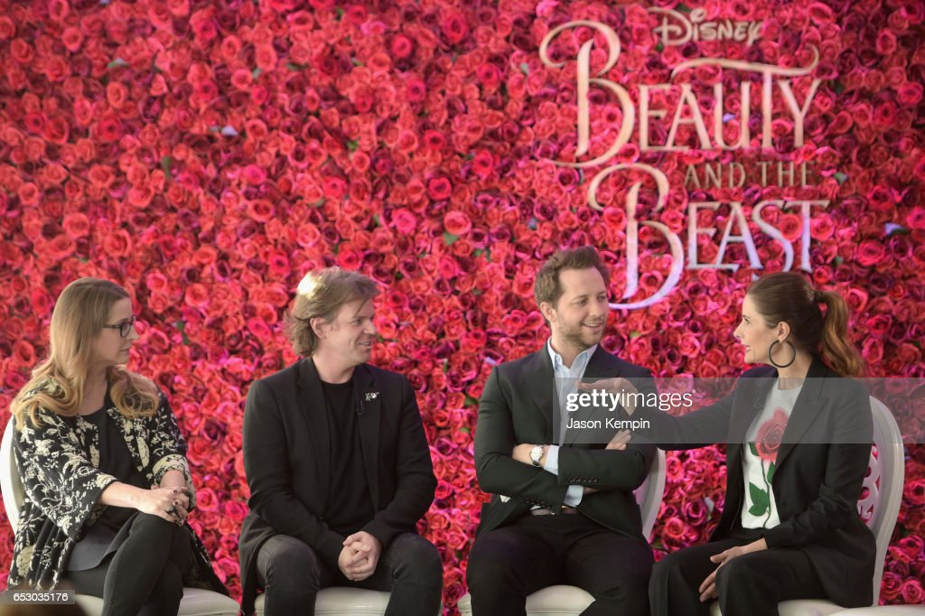 Heather Laing-Obstbaum, Christopher Kane, Derek Blasberg, Livia Firth and Laure Heriard Dubreuil were part of a panel discussion on storytelling through fashion inspired by Disney's live action movie Beauty and the Beast, including a new line by designer Christopher Kane, created in collaboration with sustainable brand consultancy, Eco-Age, and Disney. The collection goes on sale on March 16, 2017, at ChristopherKane.com and The Webster.