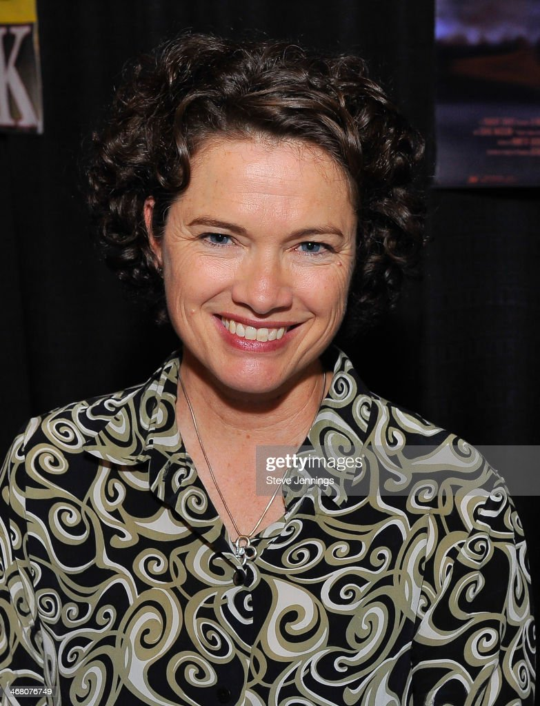 <a gi-track='captionPersonalityLinkClicked' href=/galleries/search?phrase=Heather+Langenkamp&family=editorial&specificpeople=4644124 ng-click='$event.stopPropagation()'>Heather Langenkamp</a> attends Kirk Von Hammett's Fear FestEvil at Grand Regency Ballroom on February 8, 2014 in San Francisco, California.