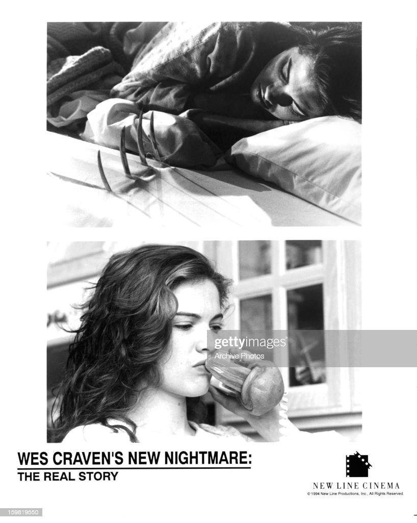 Heather Langenkamp in scenes from the film 'New Nightmare' 1994