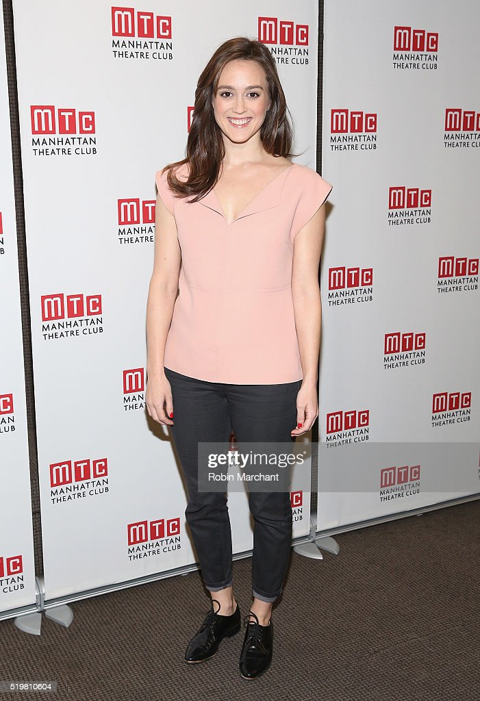 Heather Lind attends 'Incognito' Cast Meet Greet at Manhattan Theatre Club Rehearsal Studios on April 8 2016 in New York City