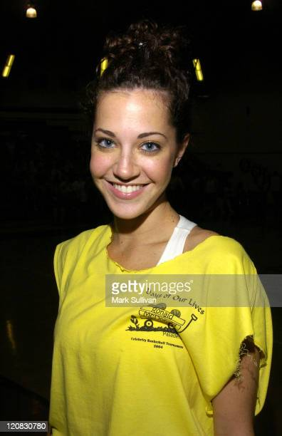 Heather Lindell during 14th Annual 'Days of Our Lives' Celebrity Basketball Tournament Benefiting Pasadena Ronald McDonald House at Blair High School...