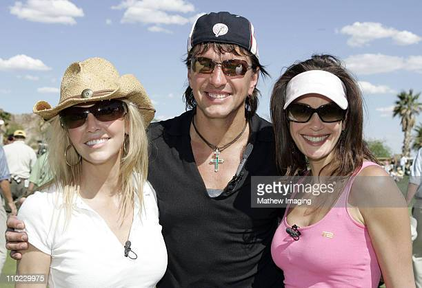 Heather Lockear Richie Sambora and Teri Hatcher during The 7th Annual Michael Douglas Friends Celebrity Golf Tournament Presented by Lexus at Cascata...