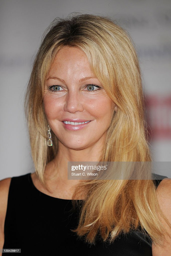 Heather Locklear arrives at the FitFlop Shooting Stars Benefit closing ball at the Royal Courts of Justice. The event was hosted by Samuel L Jackson to raise money for Make-A-Wish Foundation UK at Royal Courts of Justice, Strand on August 5, 2011 in London, England.