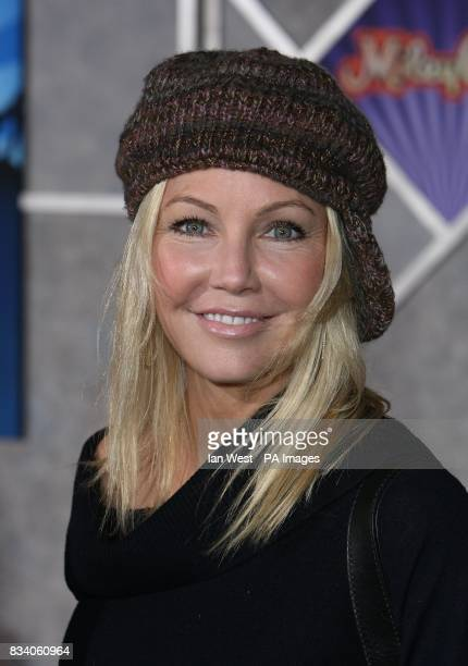 Heather Locklear arrives at the premiere for new film Hannah Montana and Miley CyrusBest of Both Worlds Concert at the El Capitan Theatre Los Angeles