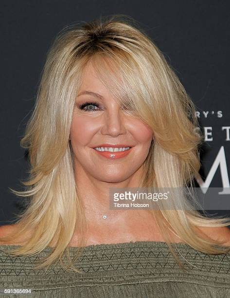 Heather Locklear attends the Screening of TLC Networks 'Too Close To Home' at The Paley Center for Media on August 16 2016 in Beverly Hills California