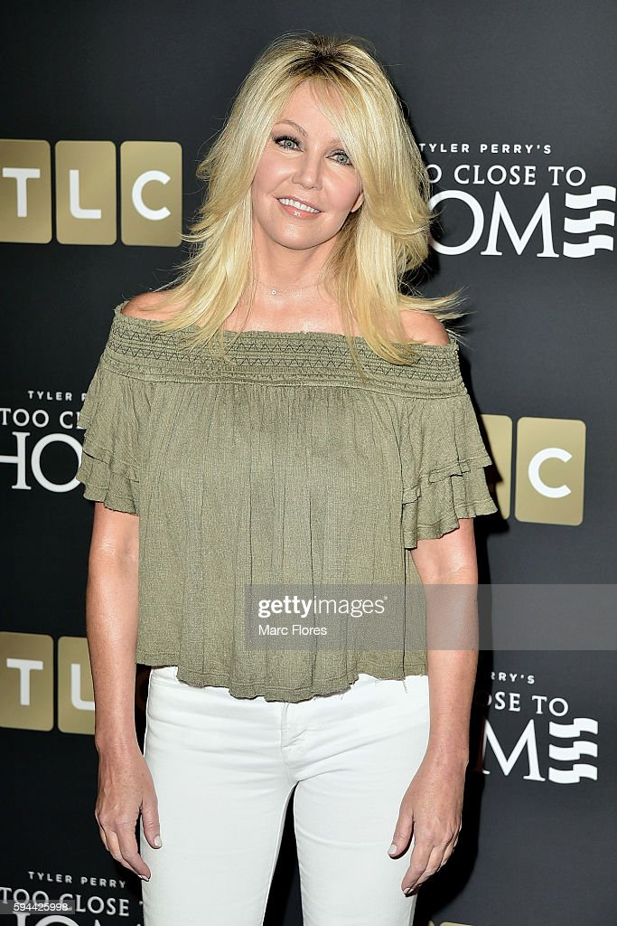 Heather Locklear attends the Screening Of TLC Networks' 'Too Close To Home' at The Paley Center for Media on August 16, 2016 in Beverly Hills, California.