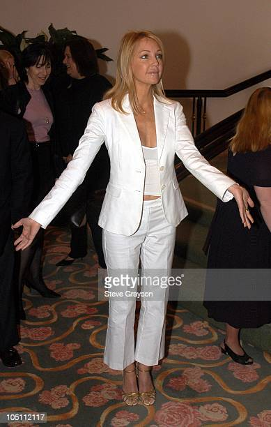 Heather Locklear during 2003 Spring Luncheon to Celebrate People With Down Syndrome at The Beverly Hills Hotel in Beverly Hills California United...