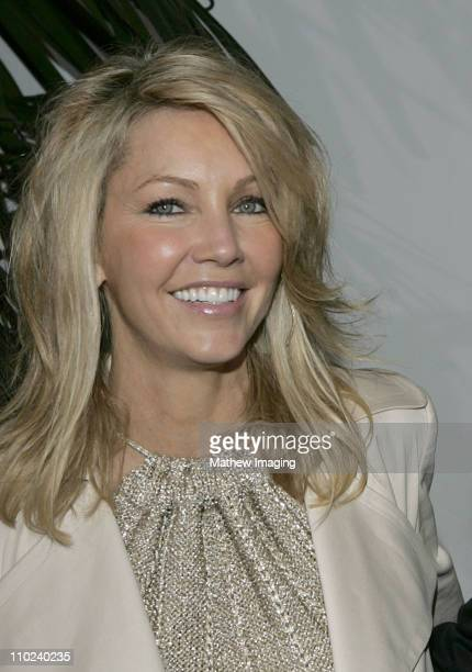 Heather Locklear during 2005 MusiCares Person of the Year Brian Wilson Arrivals at Palladium in Hollywood California United States