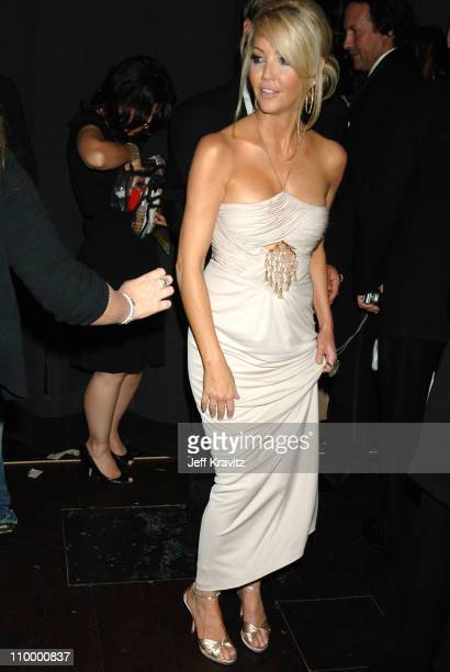 Heather Locklear during 58th Annual Primetime Emmy Awards Backstage at The Shrine Auditorium in Los Angeles California United States