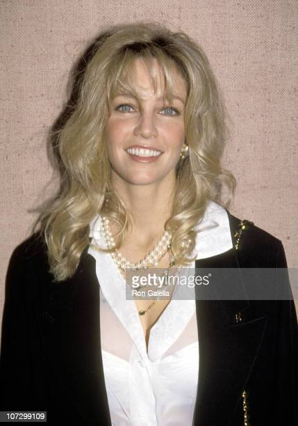 Heather Locklear during Announcement for the 49th Annual Golden Globe Awards Nominations at Beverly Hilton Hotel in Beverly Hills California United...