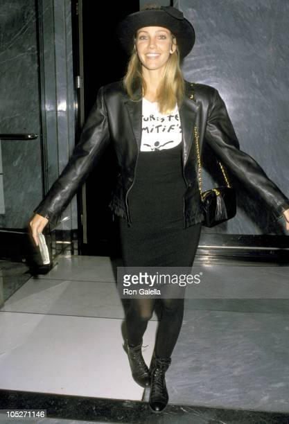 Heather Locklear during Bash To Launch The Mondrian Models Photographers Club at Mondrian Hotel in Hollywood CA United States