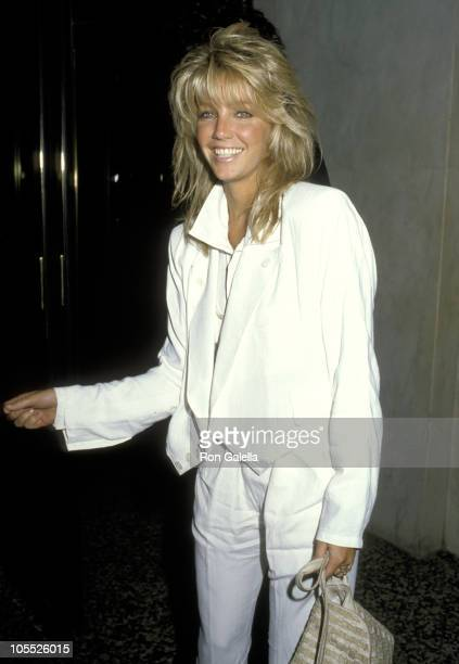 Heather Locklear during 'Dynasty' Wrap Party April 20 1986 at Bruno's Restaurant in Los Angeles California United States