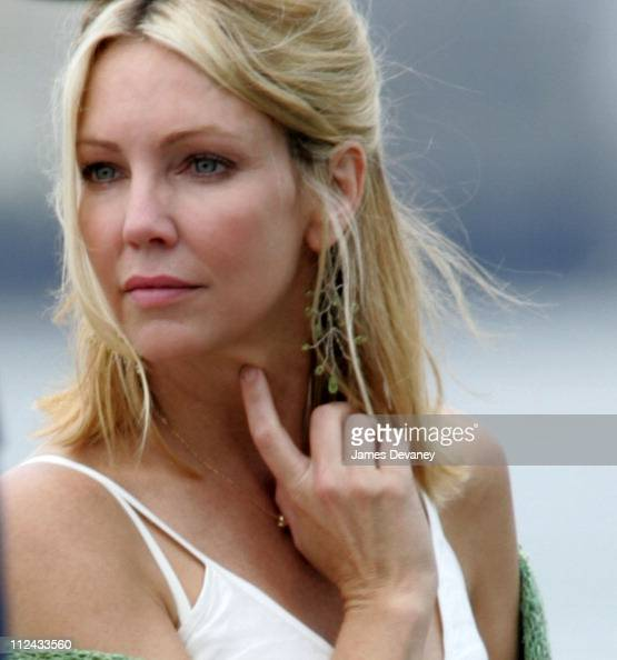 Heather Locklear during Hilary Duff and Heather Locklear on the Set of ...