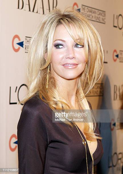 Heather Locklear during L'Oreal Paris Presents 'As Seen inHarper's Bazaar' to Benefit the Ovarian Cancer Research Fund Red Carpet at Lindbrook...