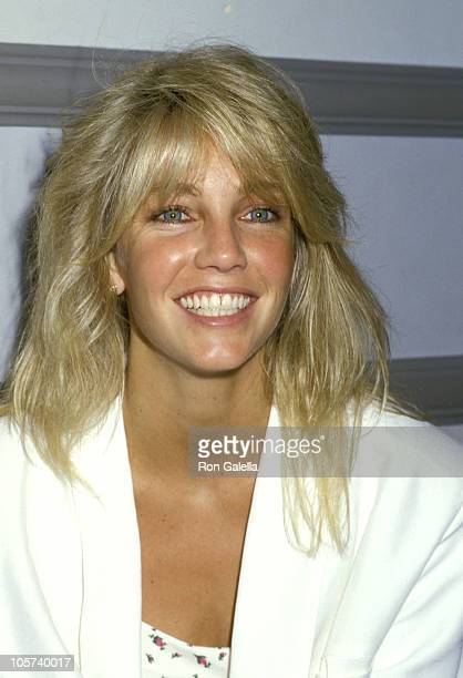 Heather Locklear during Premiere of 'The Common Pursuit' at Promenade Theater in New York City New York United States