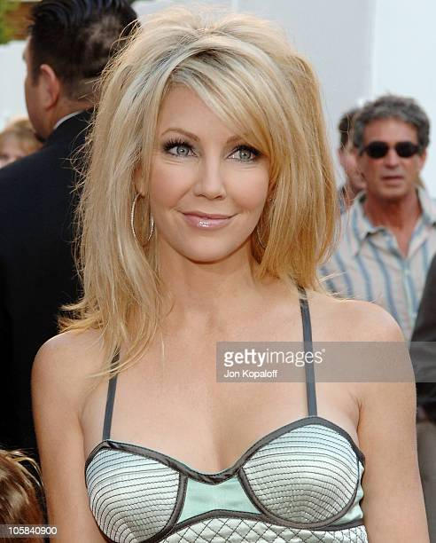 Heather Locklear during 'The Perfect Man' Los Angeles Premiere Arrivals at Universal Studios Cinema in Universal City California United States