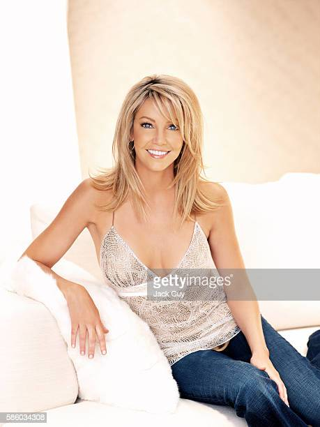Heather Locklear is photographed Redbook Magazine on April 15, 2005 in Los Angeles, California. COVER