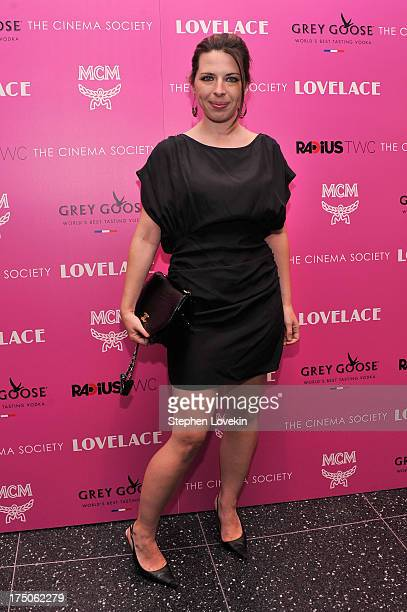 Heather Matarazzo attends The Cinema Society and MCM with Grey Goose screening of Radius TWC's 'Lovelace' at MoMA on July 30 2013 in New York City