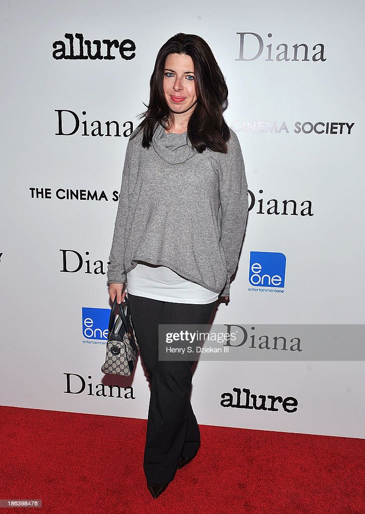 <a gi-track='captionPersonalityLinkClicked' href=/galleries/search?phrase=Heather+Matarazzo&family=editorial&specificpeople=243217 ng-click='$event.stopPropagation()'>Heather Matarazzo</a> attends The Cinema Society with Linda Wells & Allure Magazine premiere of Entertainment One's 'Diana' at SVA Theater on October 30, 2013 in New York City.