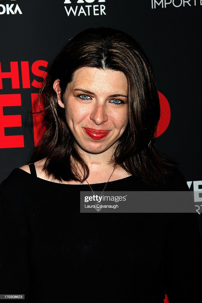 Heather Matarazzo attends 'This Is The End' New York Premiere at Sunshine Landmark on June 10, 2013 in New York City.
