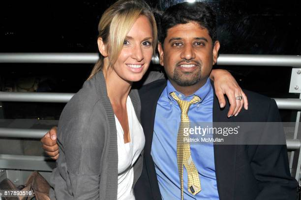 Heather Maulucci and Anil Stevens attend ASSOCIATION to BENEFIT CHILDREN Junior Committee Fundraiser at Gansevoort Hotel on September 14 2010 in New...